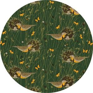 COMING SOON, Charley Harper for Birch Organic Fabrics, Bird Architects, KNIT, Eastern Meadowlark