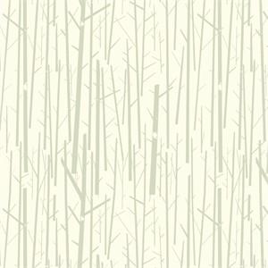Charley Harper for Birch Organic Fabrics, Western Birds, WIDE WIDTH, Perch Cream