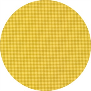 Cloud9 Fabrics, ORGANIC, Checks Please Yarn Dyed, Butter Amber