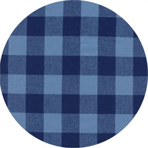COMING SOON, Cotton and Steel, Checkers, Gingham Navy