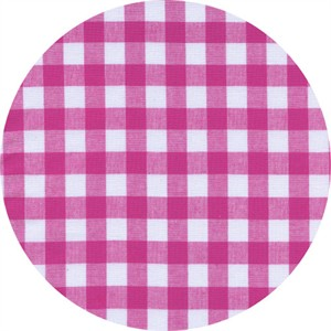 Cotton and Steel, Checkers, Half Inch, Gingham Berry