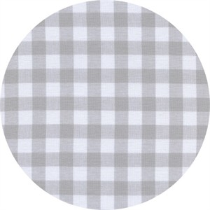 Cotton and Steel, Checkers, Half Inch, Gingham Linen