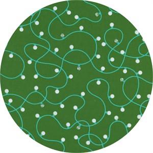 Cotton and Steel, Garland, Illuminate Green