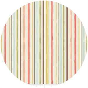 Design by Dani for Riley Blake, Woodland Spring, Stripe Cream