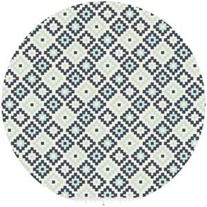 Design by Dani for Riley Blake, Woodland Spring, Geometric Navy
