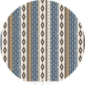 Design by Dani for Riley Blake, High Adventure, Tribal Blue