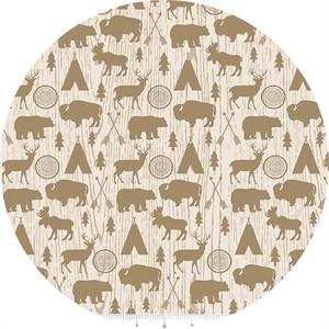 Design by Dani for Riley Blake, High Adventure, Main Cream