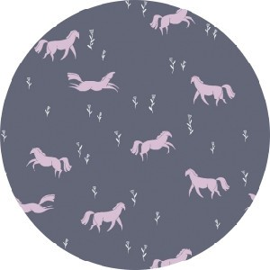 Rae Ritchie for Dear Stella, Dreamscape, Prancing Ponies Pewter