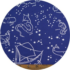 Emily Winfield Martin for Birch Organic Fabrics, Saltwater, Stars of the Sea