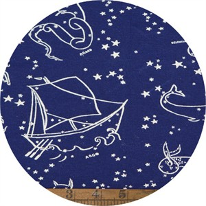 AVAILABLE FOR PREORDER, Emily Winfield Martin for Birch Organic Fabrics, Saltwater, KNIT, Stars of the Sea