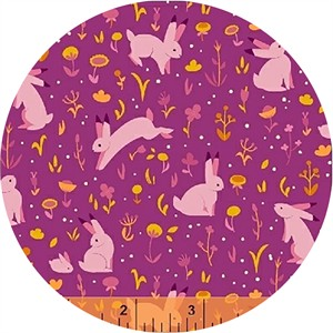 Felice Regina for Windham Fabrics, Luna Sol, Moonlight Meadow Sunset
