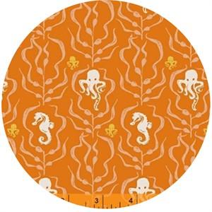 Heather Ross for Windham, Mendocino, Kelp Forest Orange