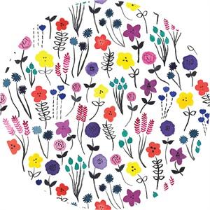 Holly Degroot for Cloud9, ORGANIC, Brush Strokes, Flower Fields