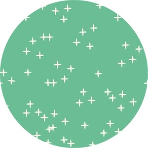 Birch Organic Fabrics, Mod Basics 3, DOUBLE GAUZE, Wink Pond