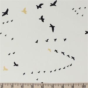 COMING SOON, Jay-Cyn Designs for Birch Organic Fabrics, Inkwell, KNIT, Flight Black/Metallic
