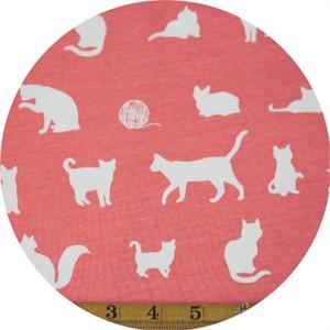 Jay-Cyn Designs for Birch Organic Fabrics, Farm Fresh, KNIT, The Chase Coral
