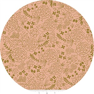 COMING SOON, Jenn Allyson for Riley Blake, On Trend, Floral Coral Sparkle