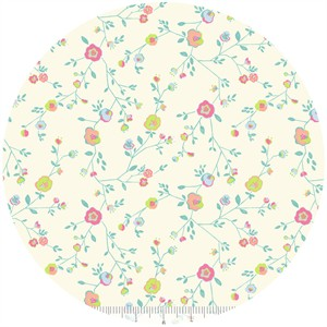 Katy Tanis for Blend, Garden Party, Woodland Floral Ivory