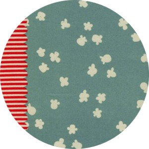 Kimberly Kight for Cotton and Steel, Penny Arcade, Popcorn Light Blue