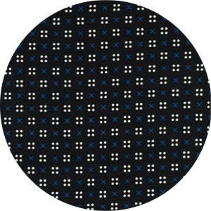 Kimberly Kight for Cotton and Steel, Penny Arcade, LAWN, X Dot Black
