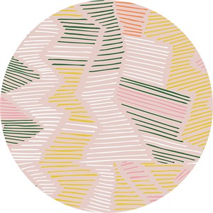 Leah Duncan for Cloud9, ORGANIC, Yucca, VOILE, Cenote Pink
