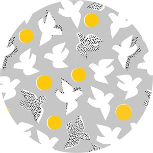 Lorena Siminovich for Cloud9, ORGANIC, Glint, Flock Gray
