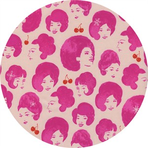 Melody Miller for Cotton and Steel, Fruit Dots, Dottie's Friends Orchid