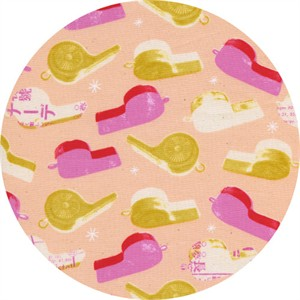 Melody Miller for Cotton and Steel, Trinket, Whistles Pink