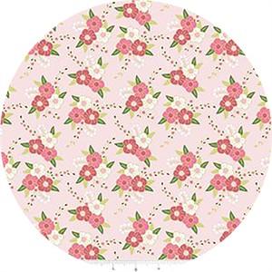 Melissa Mortenson for Riley Blake, Wonderland, Floral Pink