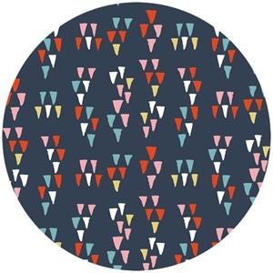 Miriam Bos for Birch Organic Fabrics, Wildland, Arrowheads Dusk