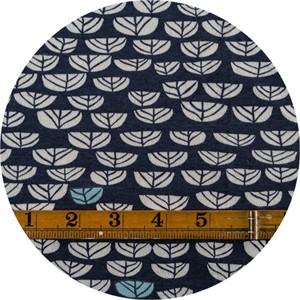 Miriam Bos for Birch Organic Fabrics, The Hidden Garden, KNIT, Sproutlet Dusk