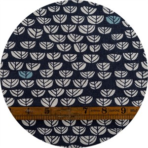 AVAILABLE FOR PREORDER, Miriam Bos for Birch Organic Fabrics, The Hidden Garden, CANVAS, Sproutlet Dusk