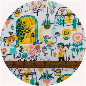 Miriam Bos for Birch Organic Fabrics, The Hidden Garden, Hidden Garden Main