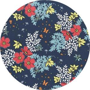 COMING SOON, Michael Miller, In Bloom, Garden Patch Azure