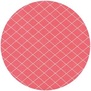 Moda, Bread N Butter, Diamond Grid Pink