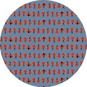 Monaluna, ORGANIC, Cottage Garden, Ladybug Blue