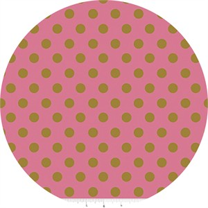 COMING SOON, Jen Allyson for Riley Blake, On Trend, Dot Raspberry Sparkle