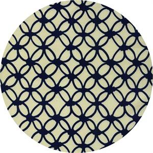 Rashida Coleman-Hale for Cotton and Steel, Macrame, Knotty Navy