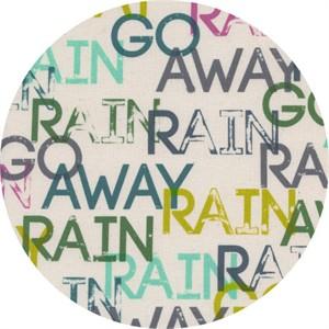Rashida Coleman-Hale for Cotton and Steel, Raindrop, Rain Go Away Sun Shower