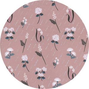 Rashida Coleman-Hale for Cotton and Steel, Raindrop, Bloom Dusk