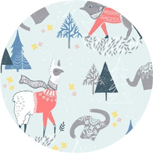 Rae Ritchie for Dear Stella, Snofall, Winterscape Multi