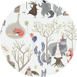 Rae Ritchie for Dear Stella, Foxtail Forest, Treetop Party Multi