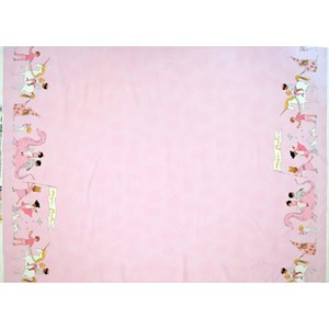 "Sarah Jane for Michael Miller, Magic!, Magical Parade Double Border Metallic Blossom (23"" panel)"