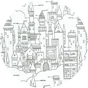 Sarah Jane for Michael Miller, Magic!, Castle Plans White
