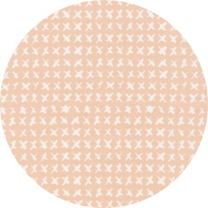 Skinny laMinx for Cloud9, ORGANIC, Around the Block, Cross Stitch Pink