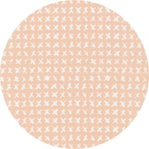 Skinny laMinx for Cloud9, ORGANIC, Around the Block, Cross Stitch Pink
