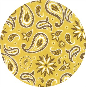COMING SOON, Stacy Iest Hsu for Moda, Howdy, Paisley Parade Buttercup
