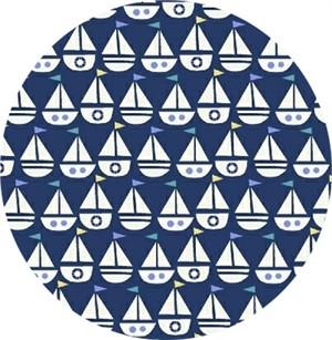 COMING SOON, Windham Fabrics, Seaside, My Boat Dark Blue