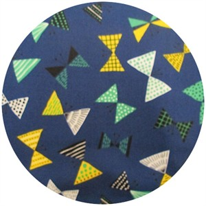 Cosmo Textiles, Bowtie Butterfly Cobalt