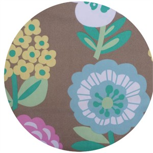 Cosmo Textiles, Bold Flowers Tan